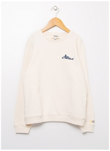 National Geographic Sweatshirt Ekru